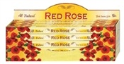 Wholesale Incense - Tulasi Red Rose Incense Square Pack