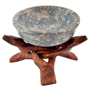 "WBR102<br><br>  4"" Cobra Stand + 3"" Stone Bowl Burner Set"