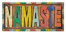 Wholesale Namaste Wall Hanging