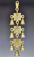 Wholesale Three Om Symbol Wall Hanging Chime