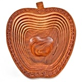 Wholesale Wooden Apple Shape Tray