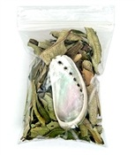 Wholesale Yerba Santa Smudge and Abalone Set