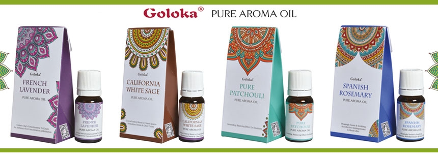 Wholesale Goloka Aroma Oils