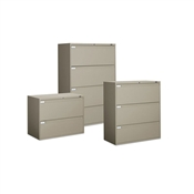 "Global 3 Drawer Lateral File 42"" Wide"