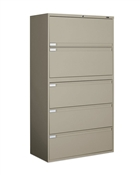 "Global 5 Drawer Lateral File 42"" Wide"