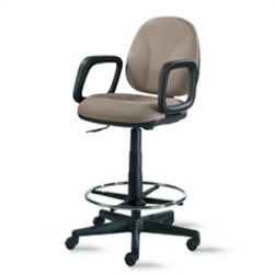 "9to5 Agent 10"" Low-Back Stool Chairs"