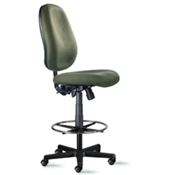 "9to5 Agent 1666 10"" Mid-Back Stool Chairs"