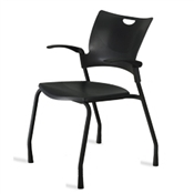 9to5 Bella 1310 Four Leg Guest Chair
