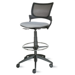 "9to5 Bella Mesh 1376 Mesh Back 10"" Stool"
