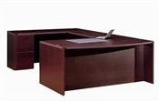 CHERRYMAN AMBER EXECUTIVE U DESK AM350N