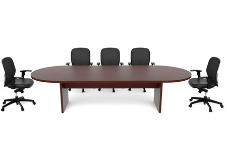 CHERRYMAN AMBER RACETRACK CONFERENCE TABLE AMCT