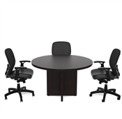 CHERRYMAN AMBER ROUND CONFERENCE TABLE AMRT