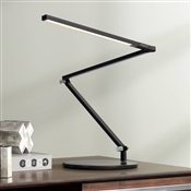 Koncept Gen 3 Black Slim Z-Bar Daylight Led Touch Dimmer Desk Lamp