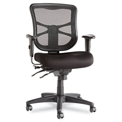 Elusion ALEEL42ME10B Mesh Mid-Back Multifunction Chair