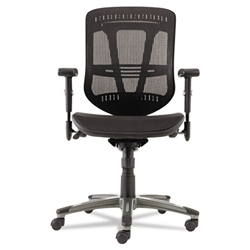 Alera Eon Series Multifunction Wire Mechanism, Mid-Back Suspension Mesh Chair