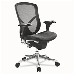 Alera EQ Series Ergonomic Multifunction Mid-Back Mesh Chair