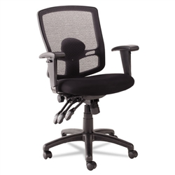 Alera Etros Series Mesh Mid-Back Multifunction Chair