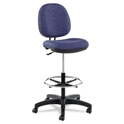 Alera Interval Series Swivel Task Stool