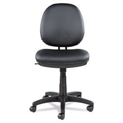 Alera Interval Swivel/Tilt Task Chair Soft-Touch Leather