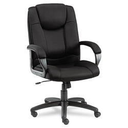 Alera Logan Series Mesh High-Back Swivel/Tilt Chair