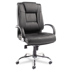 Alera Ravino Big and Tall Series High-Back Swivel/Tilt Leather Chair