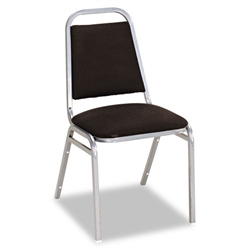 Alera Continental Series Square Back Stacking Chairs