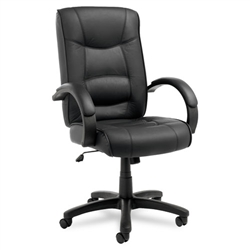 Alera Strada Series High-Back Swivel/Tilt Chair