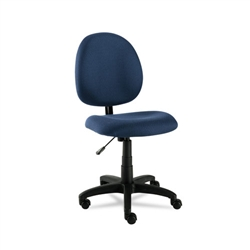 Swivel Task Chair, Acrylic, Blue ALEVT48FA20B by Alera