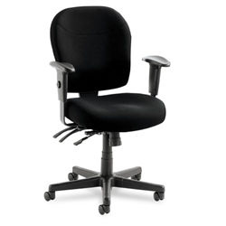 Alera Wrigley Series 24/7 High Performance Mid-Back Multifunction Chair