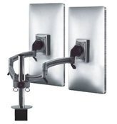 Symmetry Allure Heavy Duty Arm for Two Monitor
