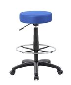 The DOT drafting stool, Blue