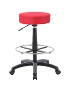 The DOT drafting stool, Red
