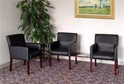 Boss Reception Waiting Room Chairs @ Office Furniture Outlet