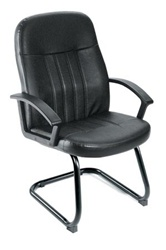 Boss Guest Leather Chair B8109