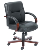 Boss Executive Mid Back Chair B8906