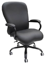 Boss B990-CP Black Big and Tall Office Chair