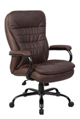 Boss B991-Brown Big and Tall Office Chair