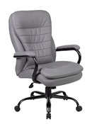 Boss B991-Grey Big and Tall Office Chair