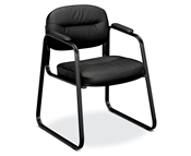 Basyx HVL653 Sled Base Chair