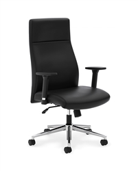 Basyx HVL108 Executive High-Back Chair