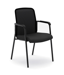 Basyx HVL518 Mesh Back Stacking Multi-Purpose Chair