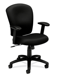 Basyx HVL220 Mid-Back Task Chair