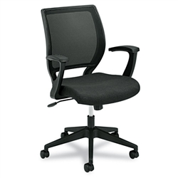 Basyx HVL521 Mid-Back Work Chair