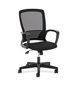 Basyx HVL525 Mesh High-Back Chair