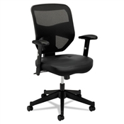 Basyx HVL531.SB11 Mesh High-Back Task Chair