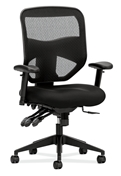Basyx HVL532 Mesh High-Back Task Chair