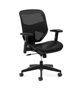 Basyx HVL534 Mesh High-Back Task Chair