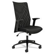 Basyx HVL573 Mesh High-Back Task Chair
