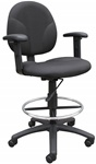 Boss Task Chair with Foot Ring B1691