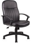 Boss Executive LeatherPLUS Chair B8106